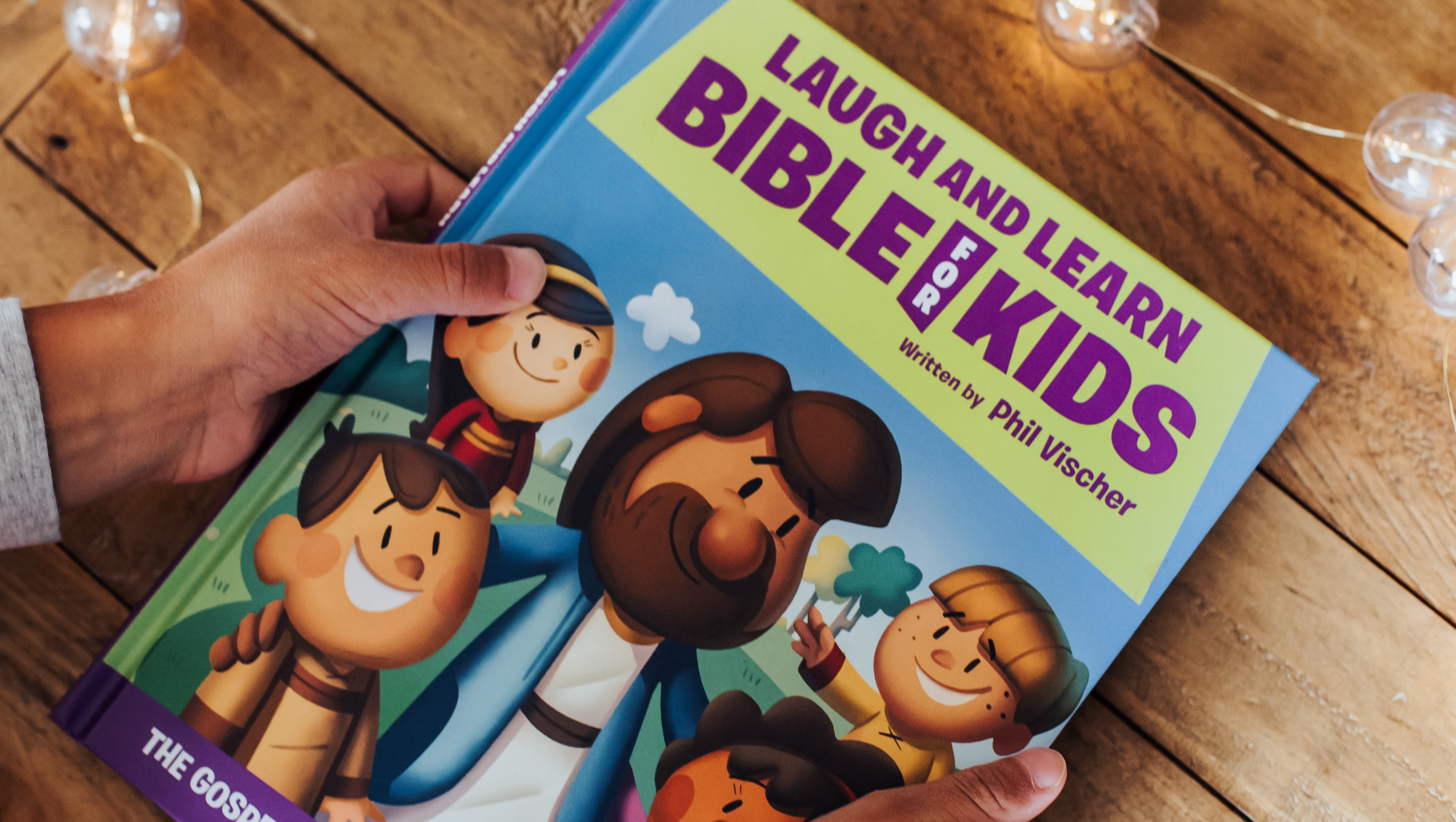 Family Advent Reading Plan from the Laugh and Learn Bible for Kids