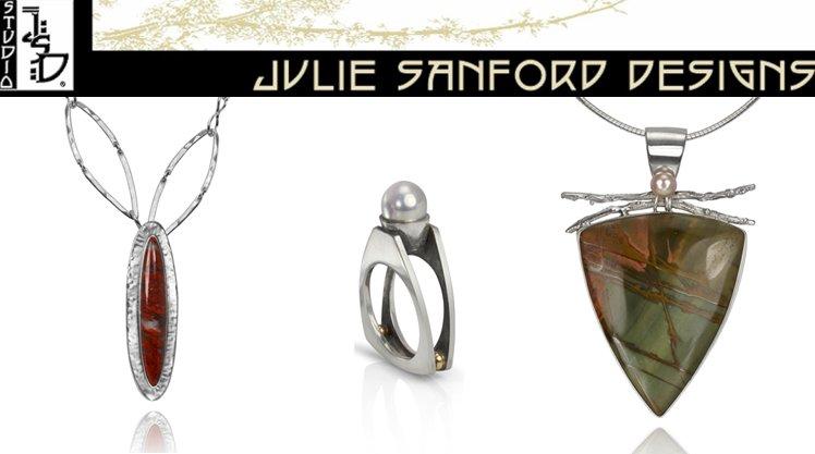 Jewelry designs by Julie Sanford