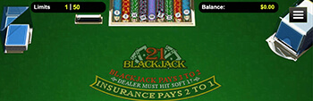 Intertops Casino 21 Blackjack