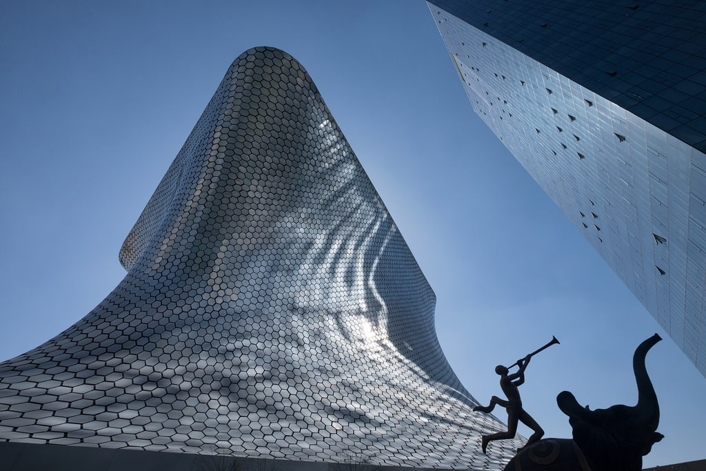Museo Soumaya is one of the best places to visit in Mexico City