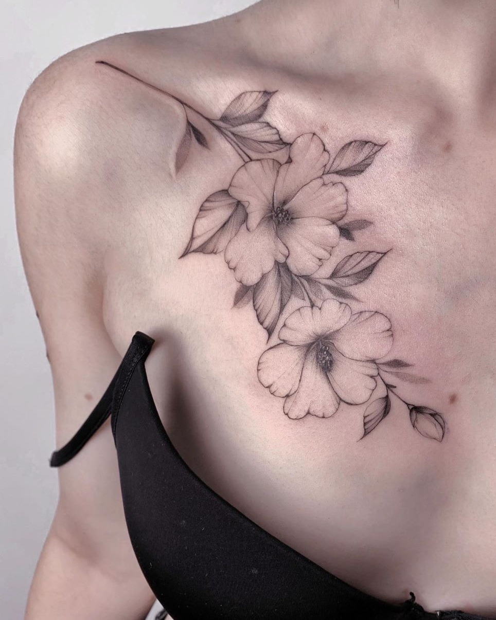 Floral Tattoos Explained Origins And Meaning Tattoos Wizard