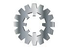Internal External Combo Lock Washer