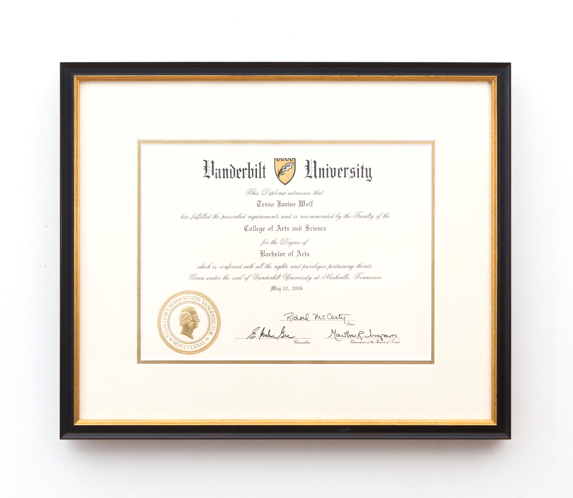 How To Frame Your Diploma Framebridge