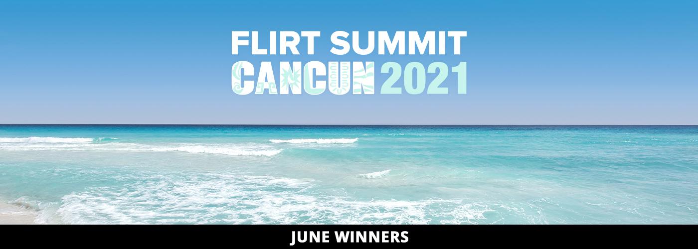 Ten Exquisite Flirt Camgirls Win Their Way to Flirt Summit!