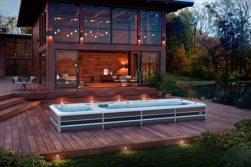 spa pools, pool with spa