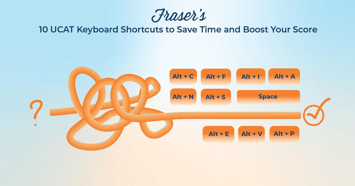 Ucat keyboard shortcuts (ucat onscreen keyboard shortcuts)