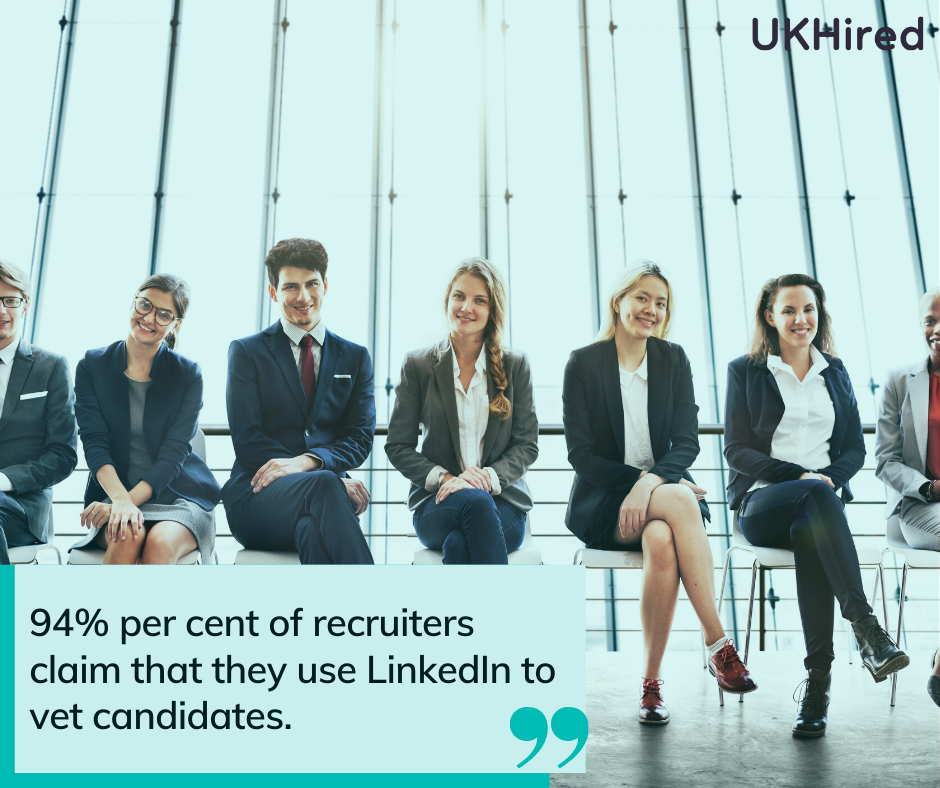 recruiters vet candidates on linkedin