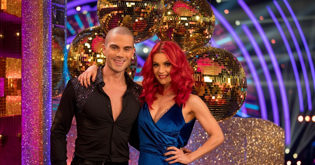 Max George Strictly Come Dancing Partner