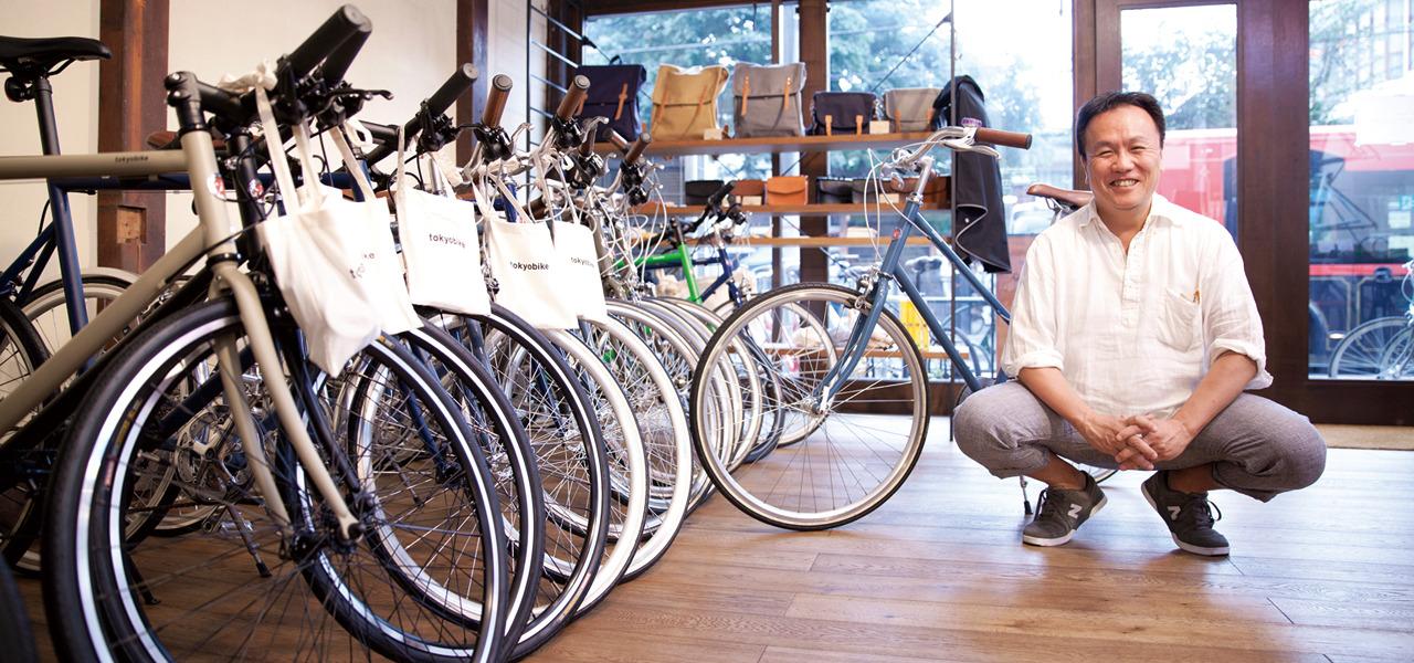 株式会社トーキョーバイク 金井一郎 「なんでもない日常」に、変化を創り出す魔法の自転車