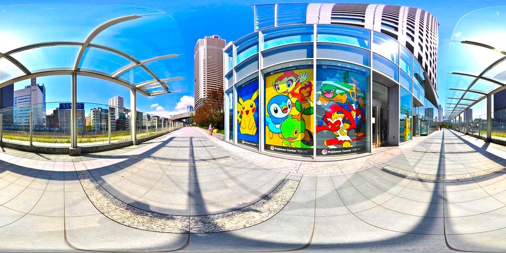 Pokemon Center in Tokyo Japan