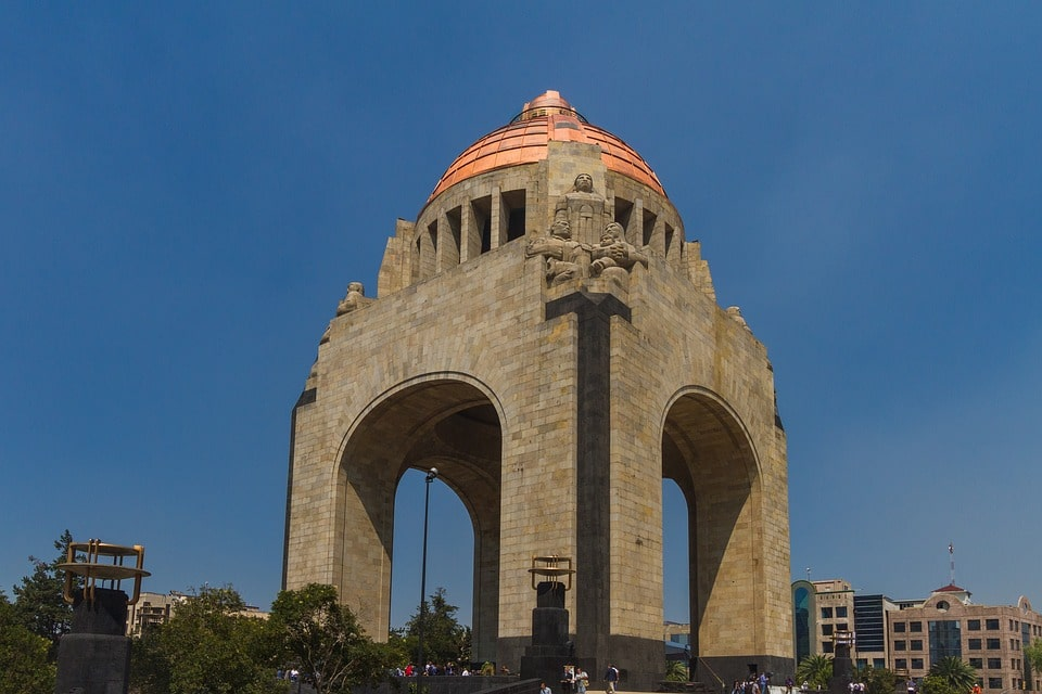 Monumento de la Revolucion is one of the best Mexico City landmarks