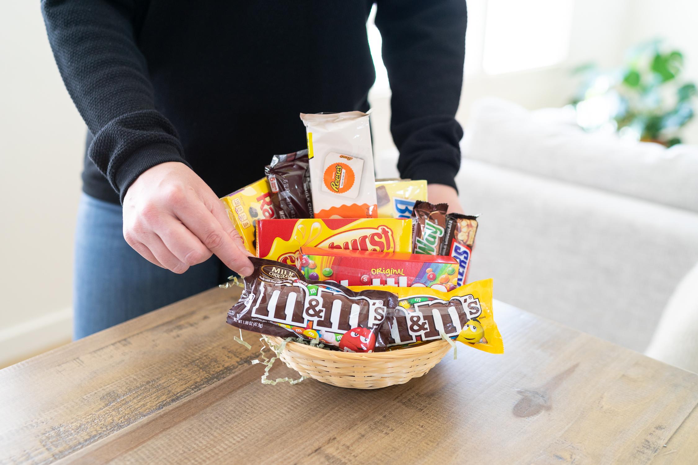 National Boyfriend Day Gift Basket Idea