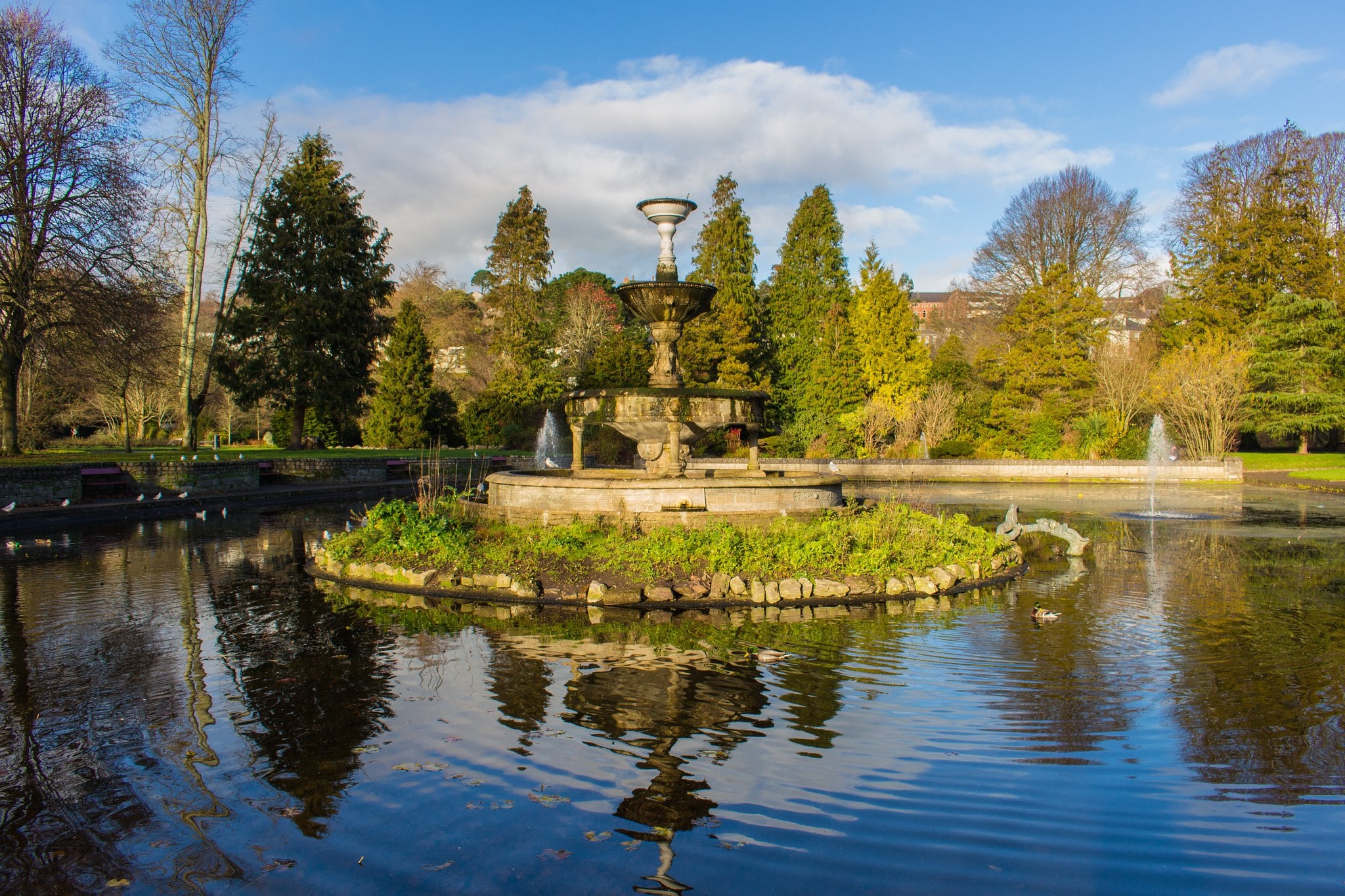 Relaxing at Fitzgerald Park is a great thing to do in Cork Ireland