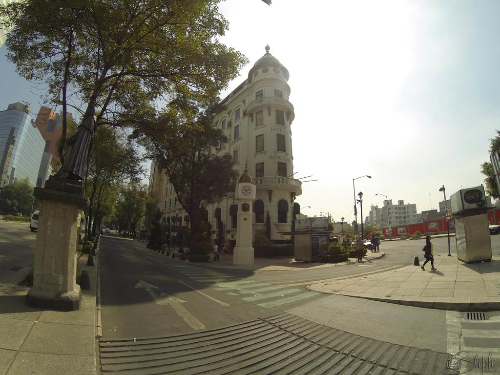 Art Deco Hotel Imperial Reforma is a picturesque cheap hotel in Mexico City