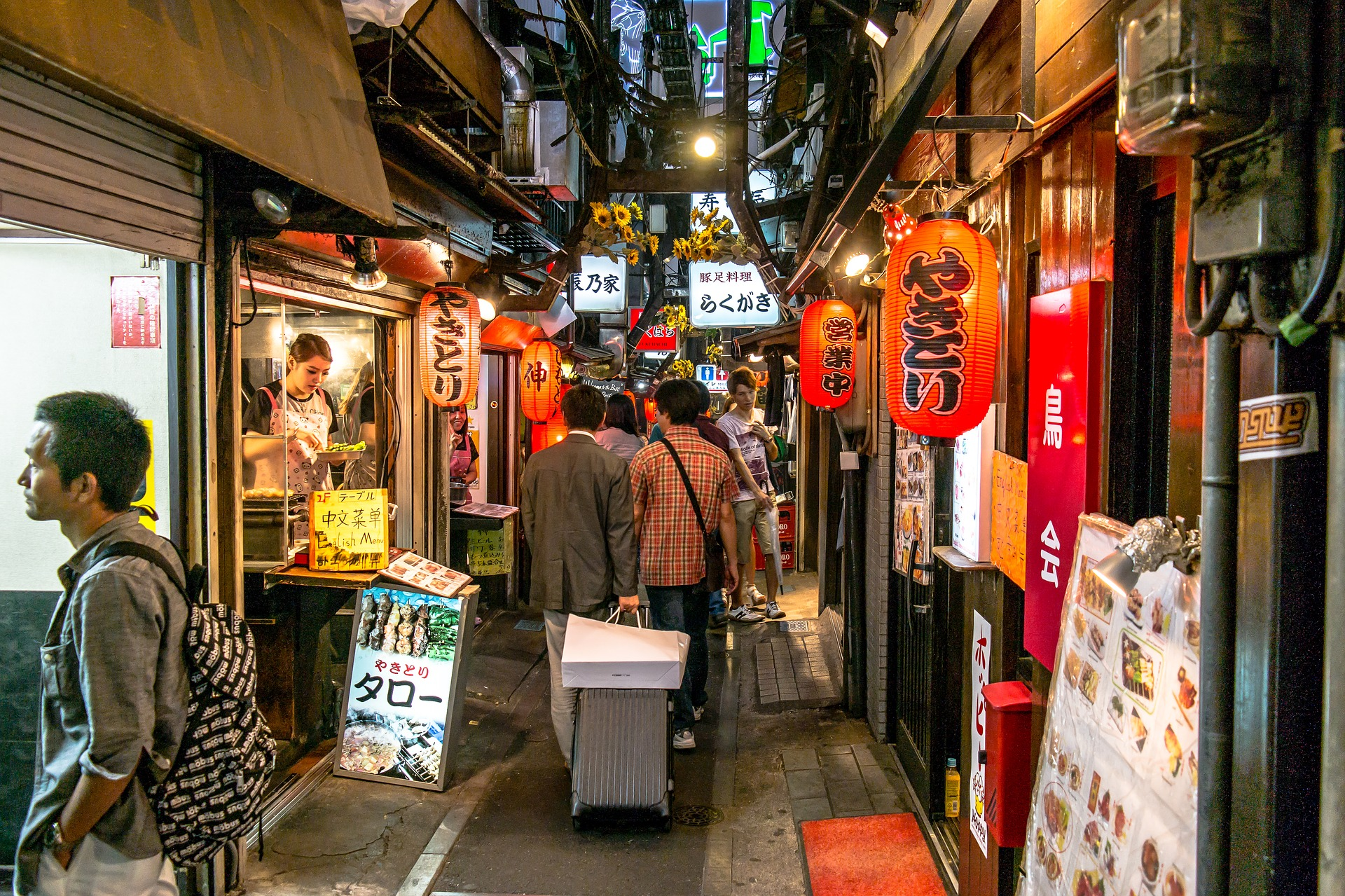 An obvious cool thing to do in Tokyo is check out the awesome nightlife
