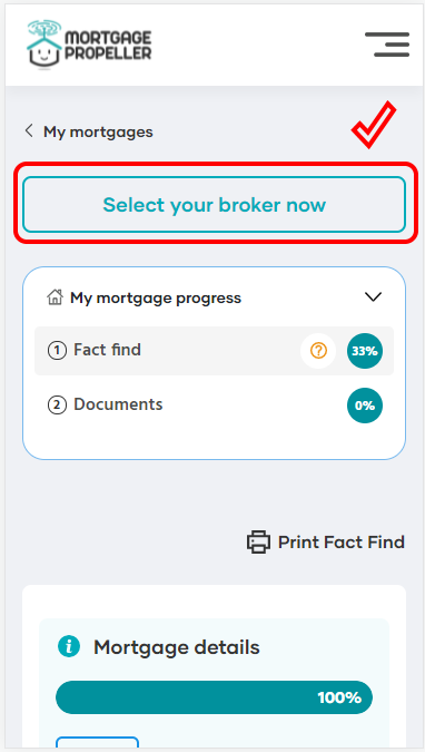 How it Works - Select Broker step 2