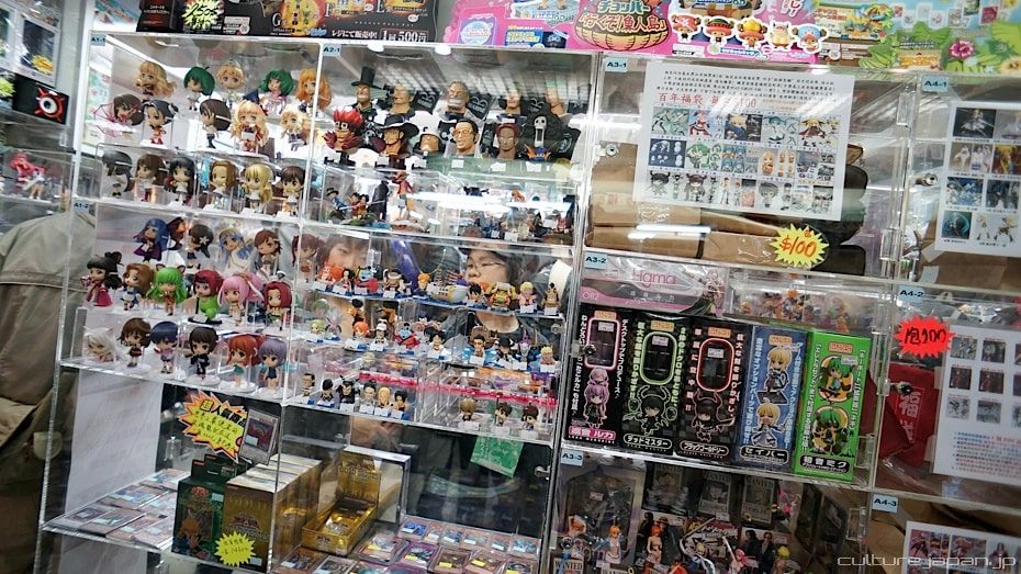 anime and manga toys are what to buy in Japan