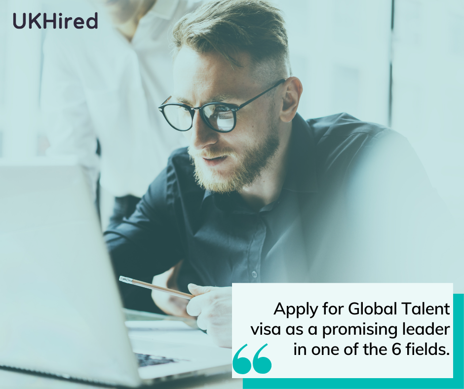 Global Talent visa application