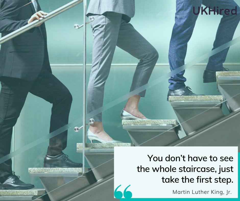 Take the first step towards your career in the UK