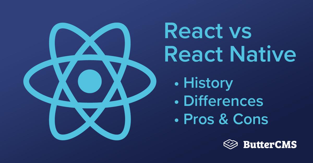React vs React Native: Cover Image