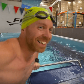 VIDEO: Triathlon Taren Gets