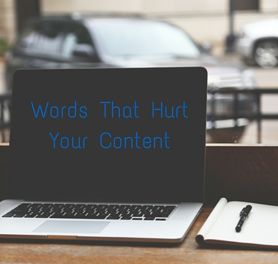 6 Phrases Weakening Your Content