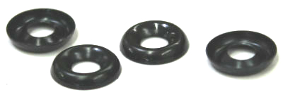 Black Countersunk Finishing Washers