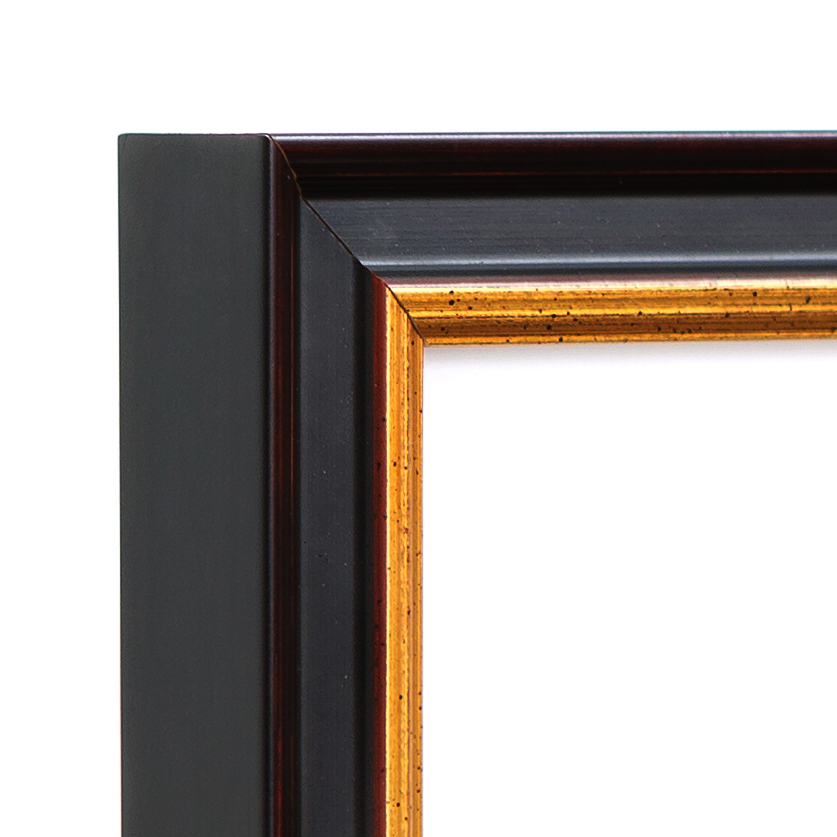 Providence Frame Corner – 16x20 black and gold frame