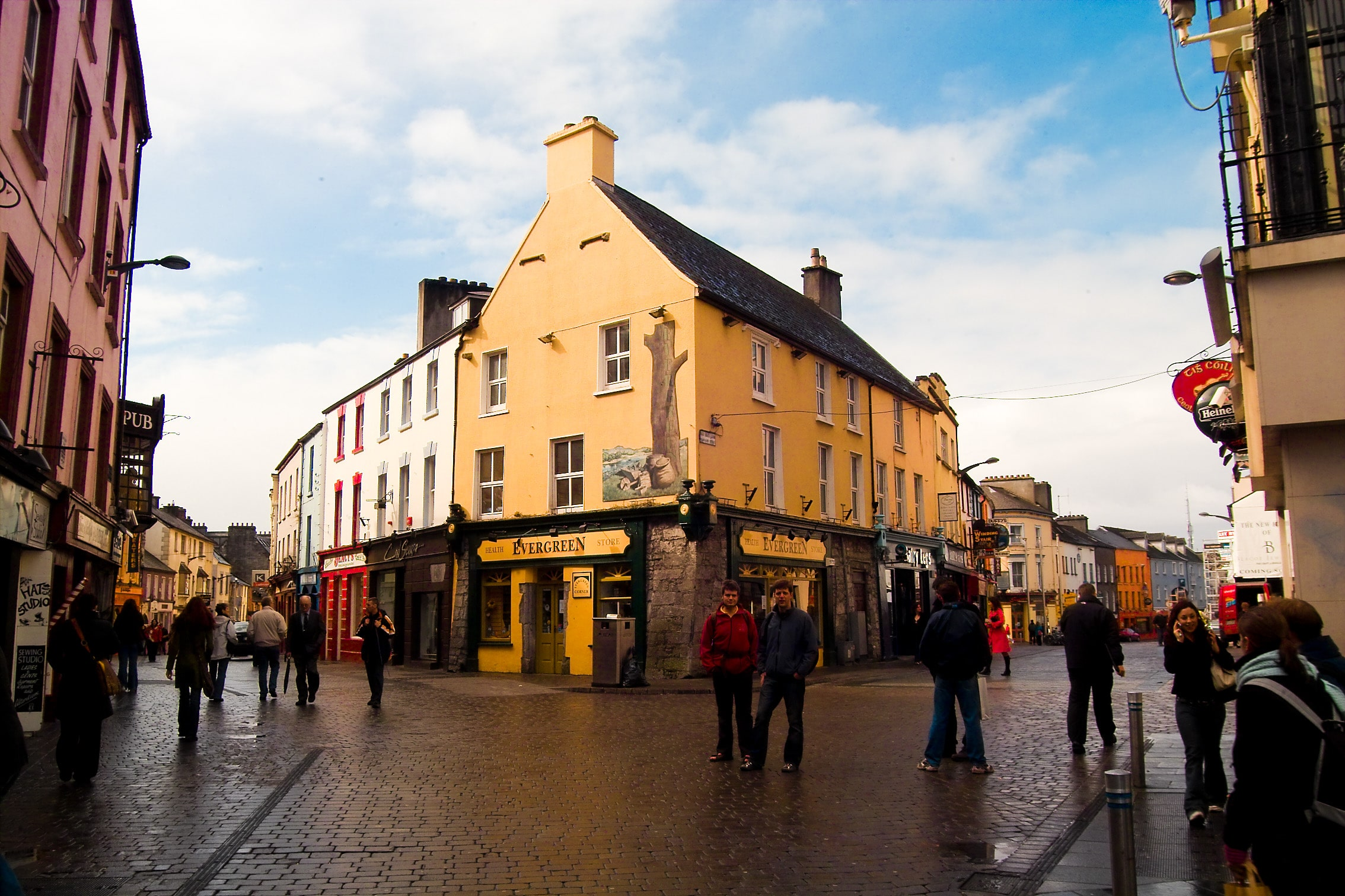 Galway is a great place to visit in Ireland