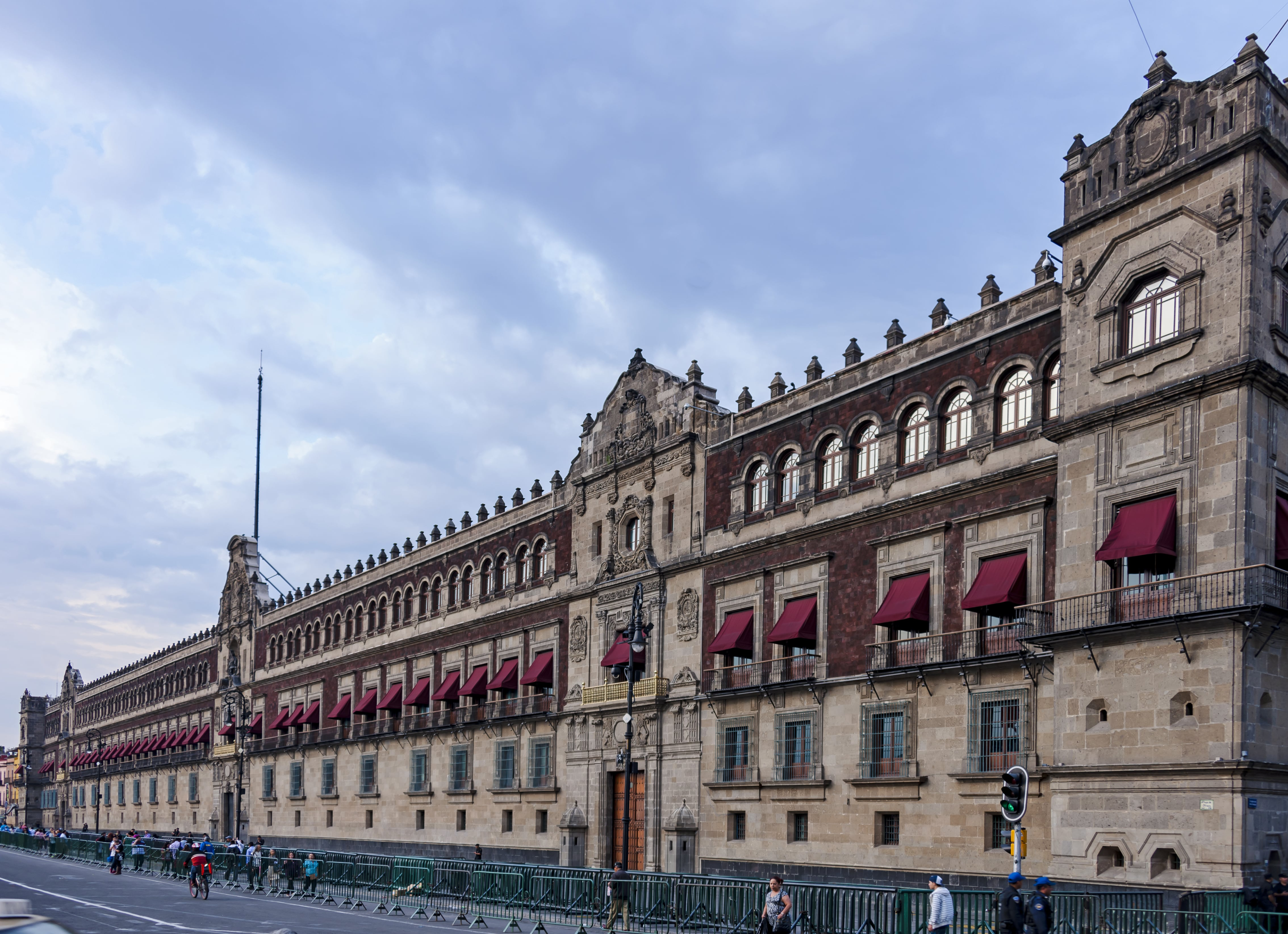 If you love politics and history, visiting the Palacio Nacional is a great thing to do in Mexico CIty