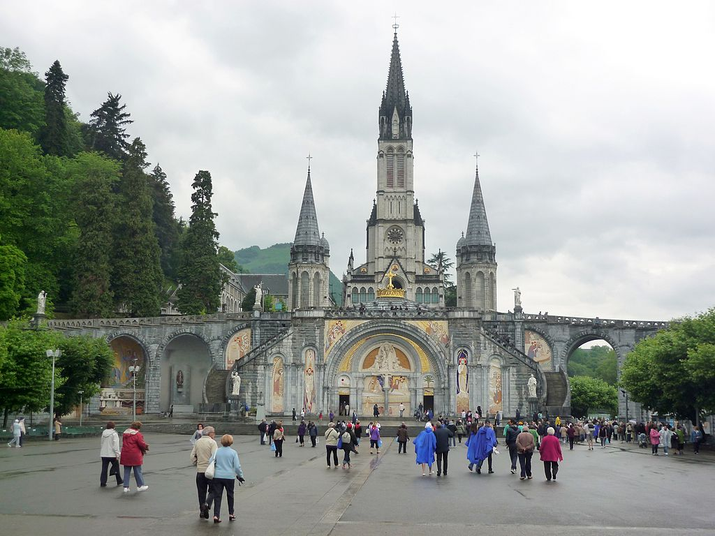 Lourdes is one of the most beautiful places to visit in France