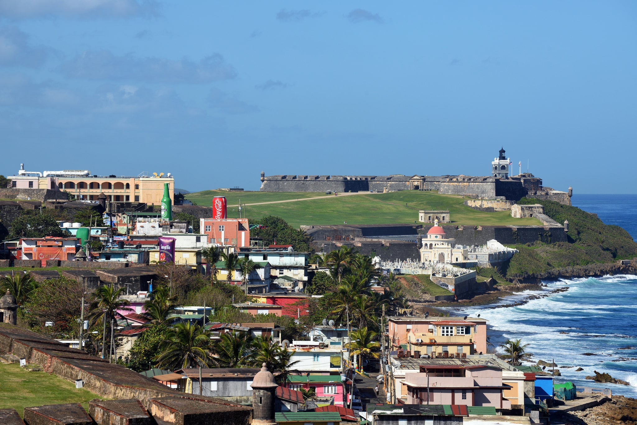 Visiting La Perla is one of the fun things to do in san juan puerto rico