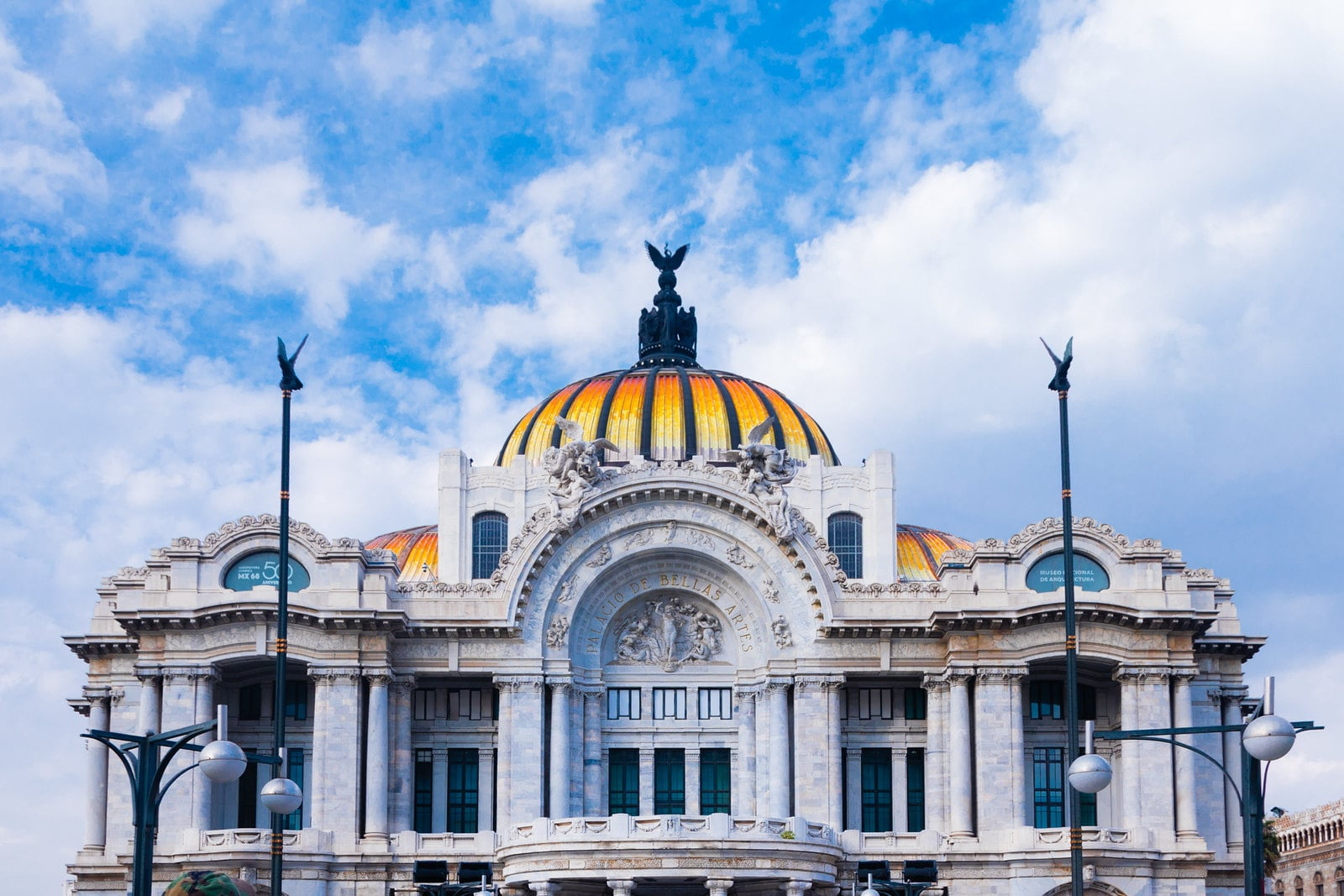 Palacio de Bellas Artes is one of the Places to Visit in Mexico City