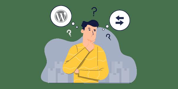 Illustration: Quitting WordPress