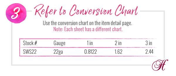 How to buy metal sheet: Step 3