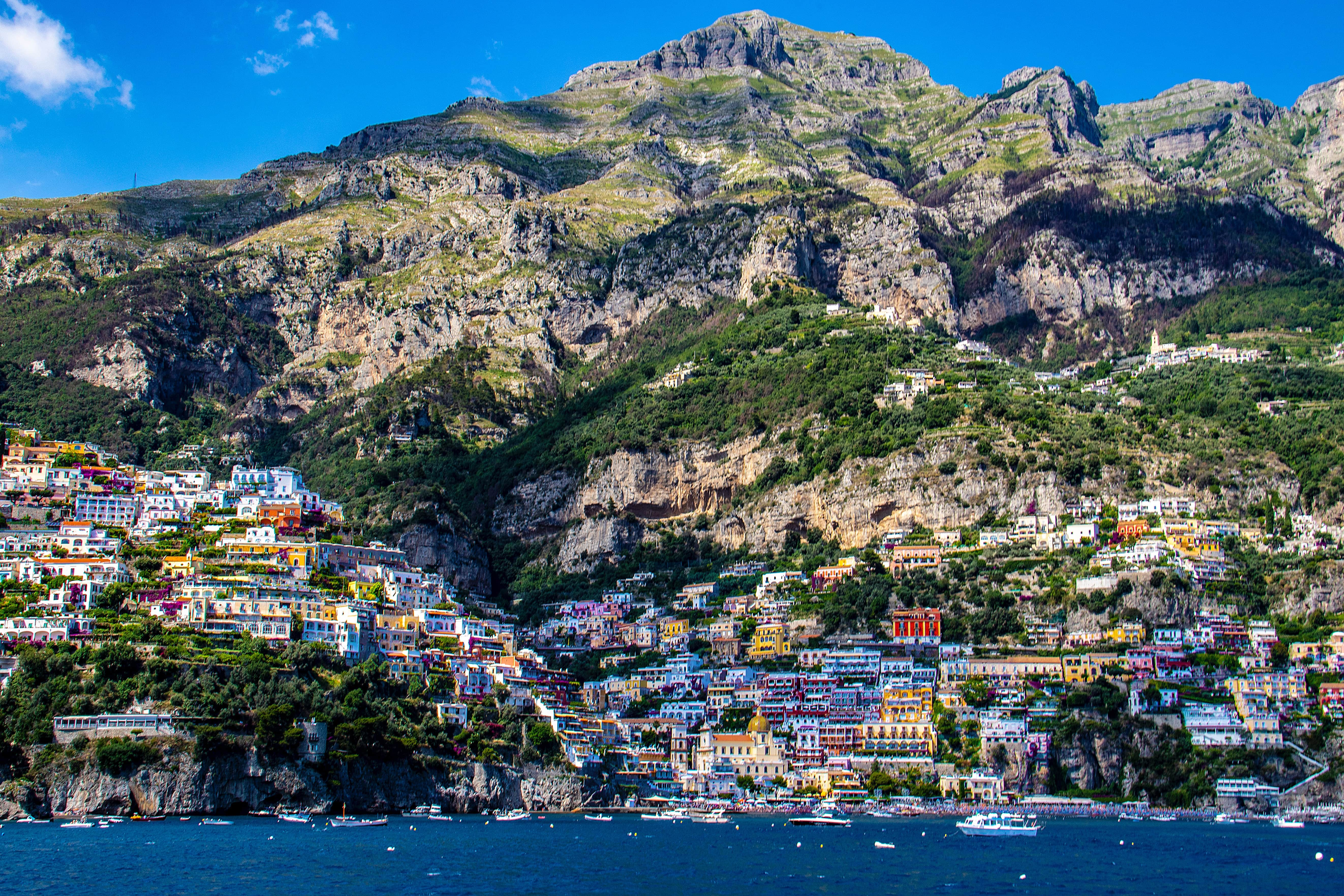 Exploring the Amalfi Coast is a gorgeous thing to do in Italy
