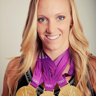 Olympic swimmer Dana Vollmer