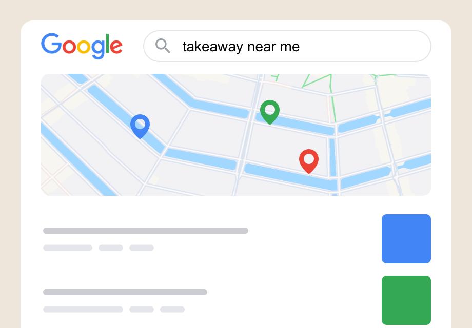 """Hoe optimaliseer je je website voor de zoekterm """"takeaway bij mij in de buurt""""?"""