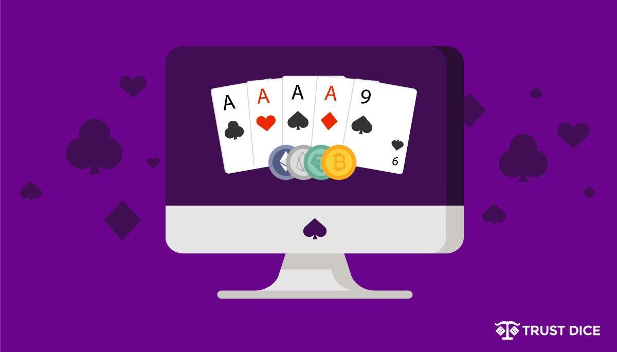 Bitcoin poker games