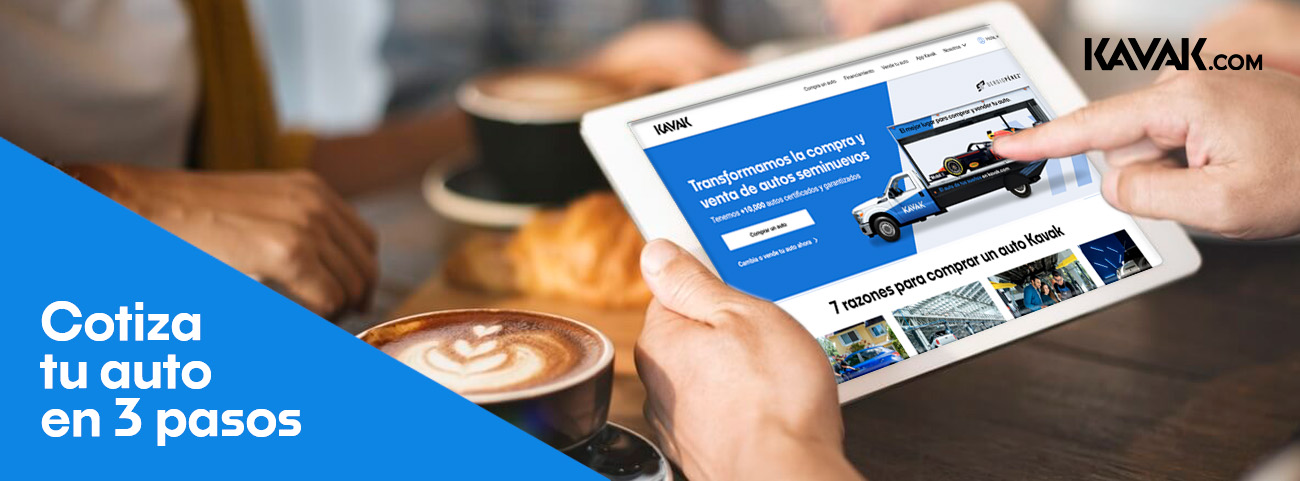 ¿Sabes cómo cotizar un auto usado? Conoce 3 pasos a través de la plataforma de Kavak.com