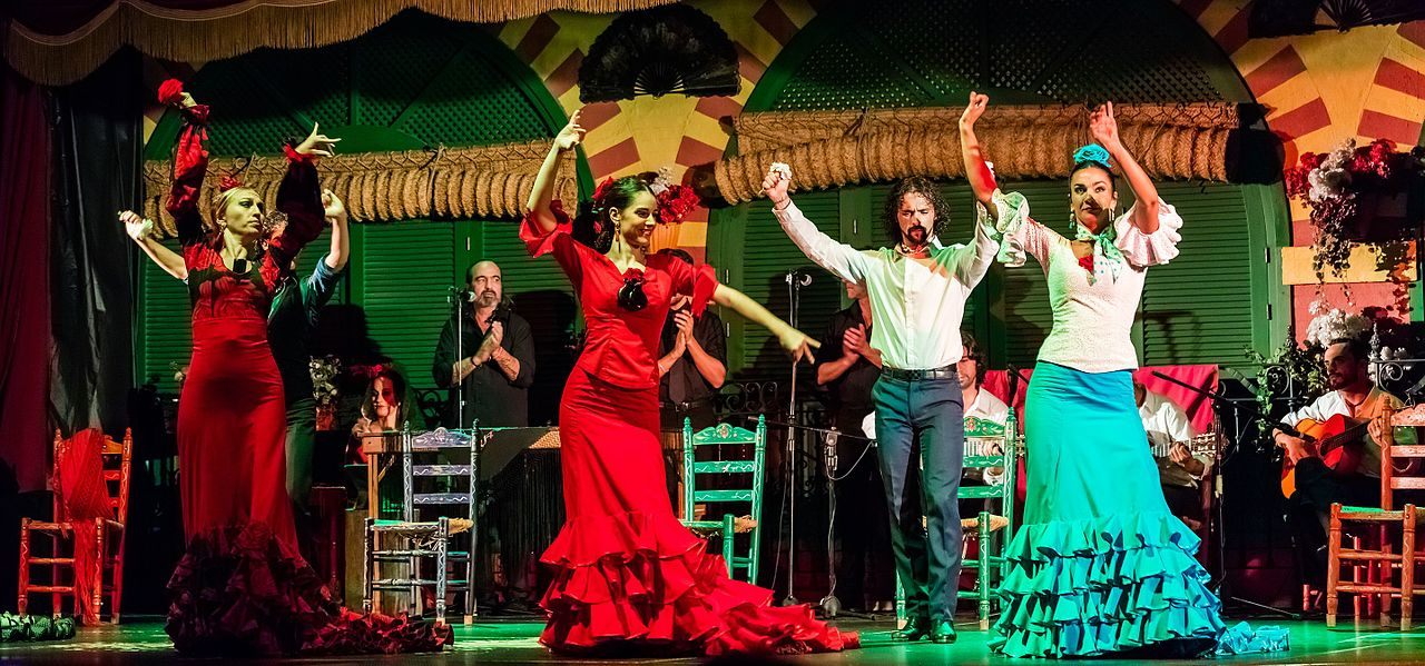 Seville is a great place to visit in Spain for flamenco dancing