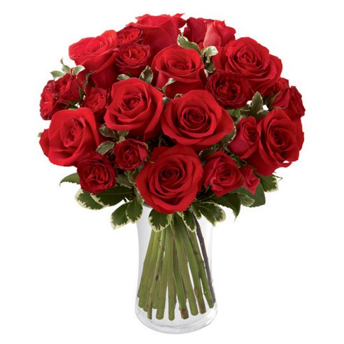 Red roses bouquet with times that you shouldnt send flowers answer