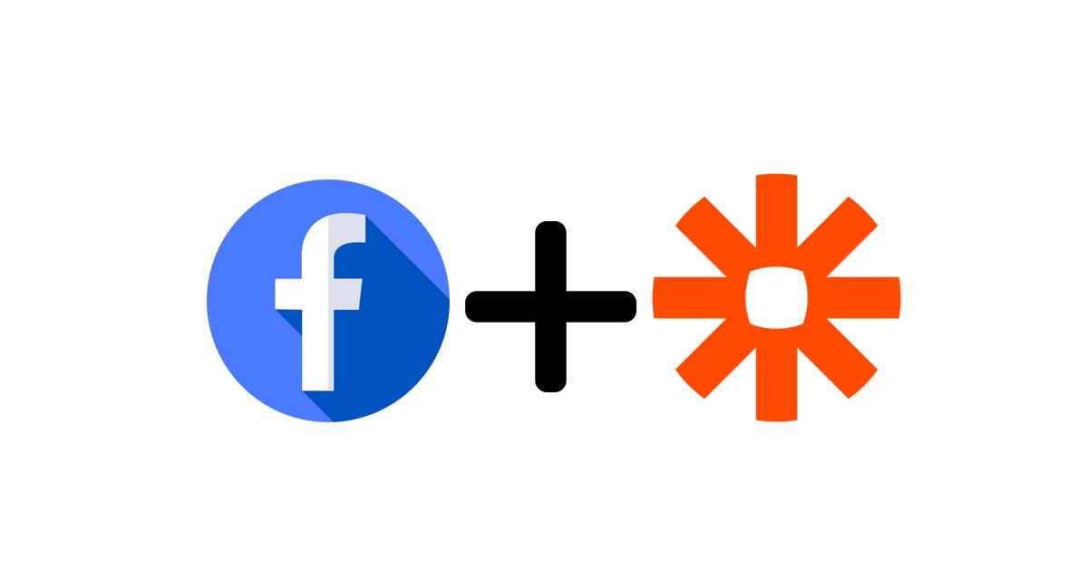 facebook and zapier