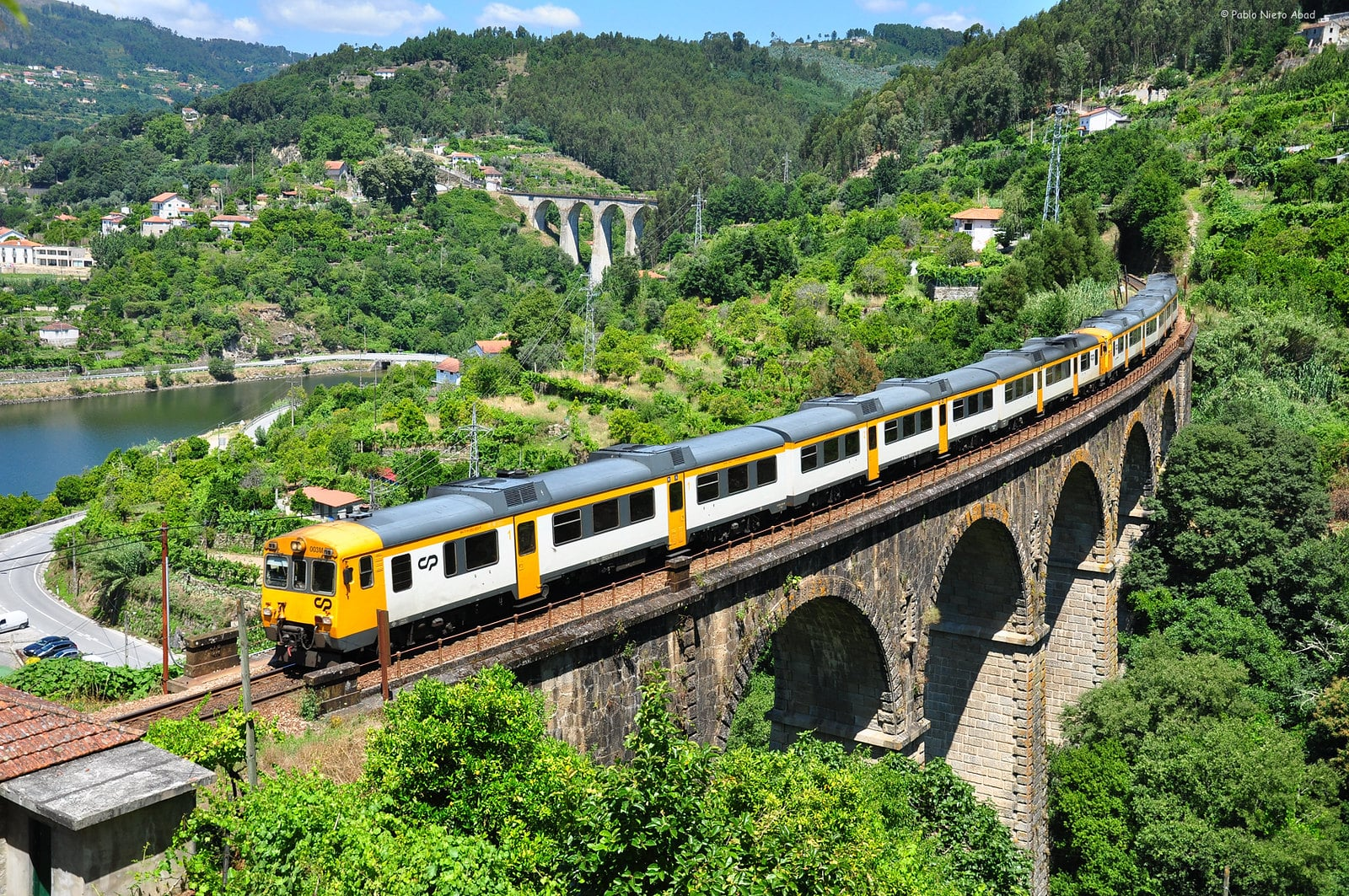 Transportation in Portugal is made easy by the country's extensive train system
