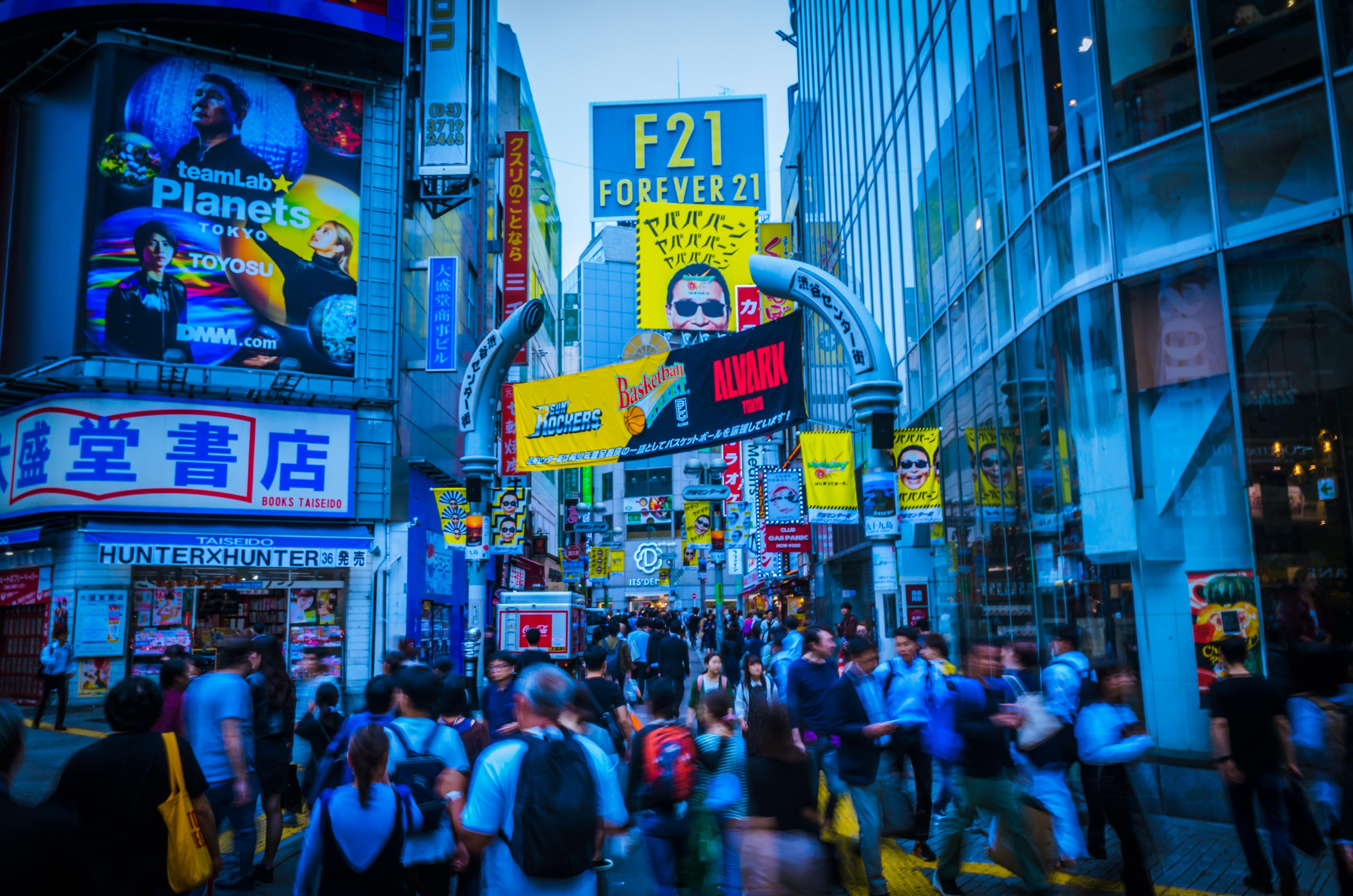 Traversing the Shibuya Crossing is one of the top 10 things to do in Tokyo