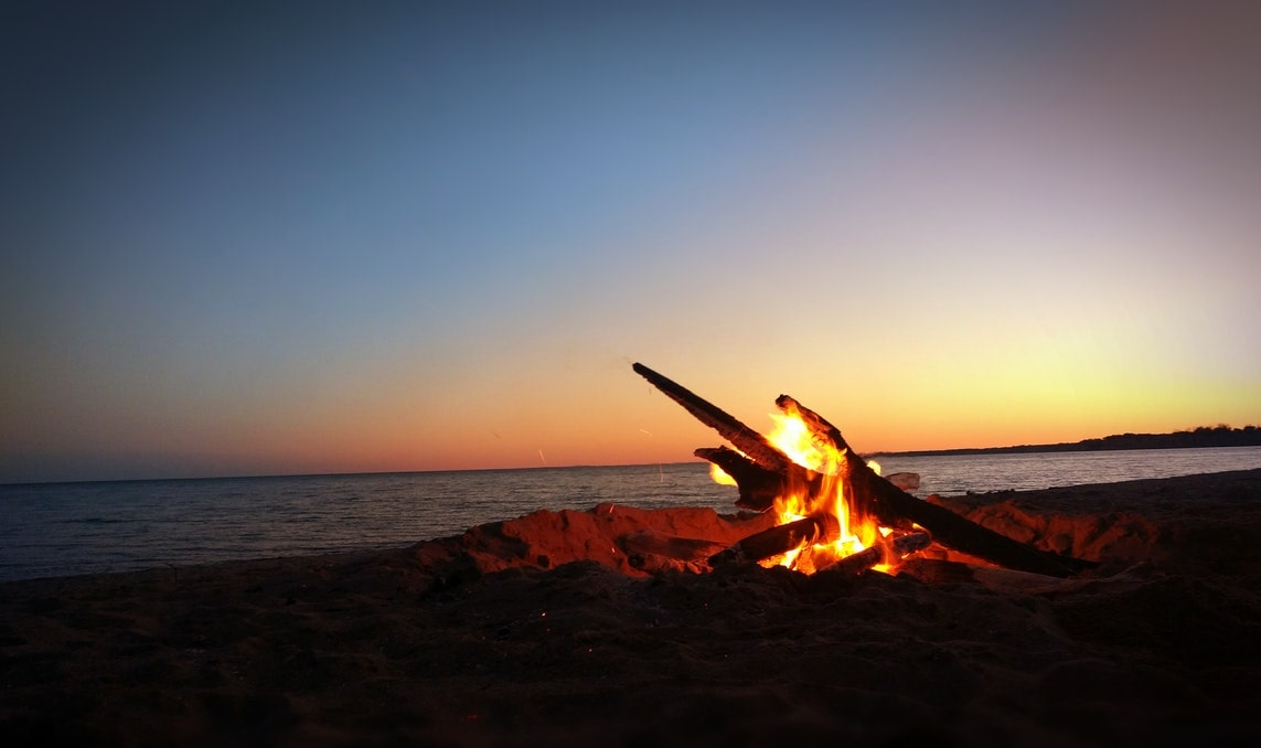 Legal bonfires make Dockweiler Beach one of the best places to visit in LA
