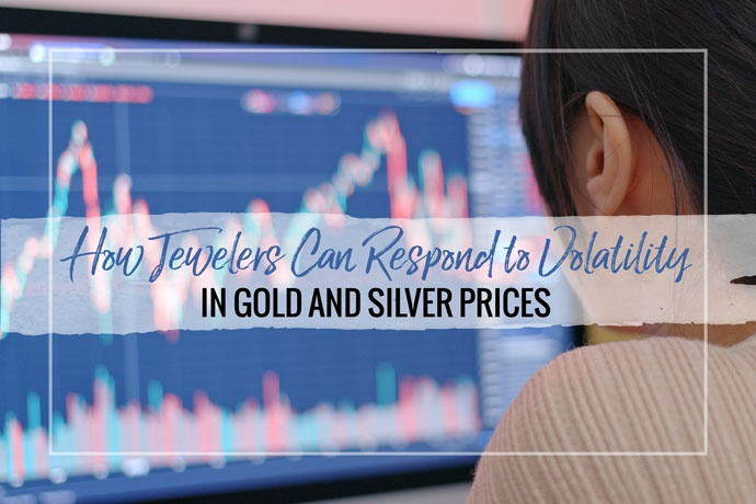 What do you do when commodity markets swing? This article will explore how jewelry artists should respond to changes in gold and silver prices.