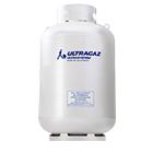 Cilindro de gás de 190 quilos para pequeno consumidor da Ultragaz na cor branca