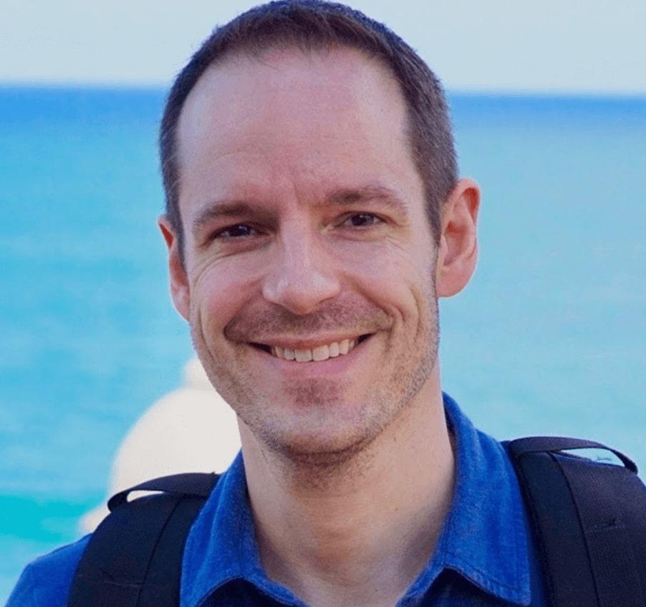 The testimonial author, Maxime Audet