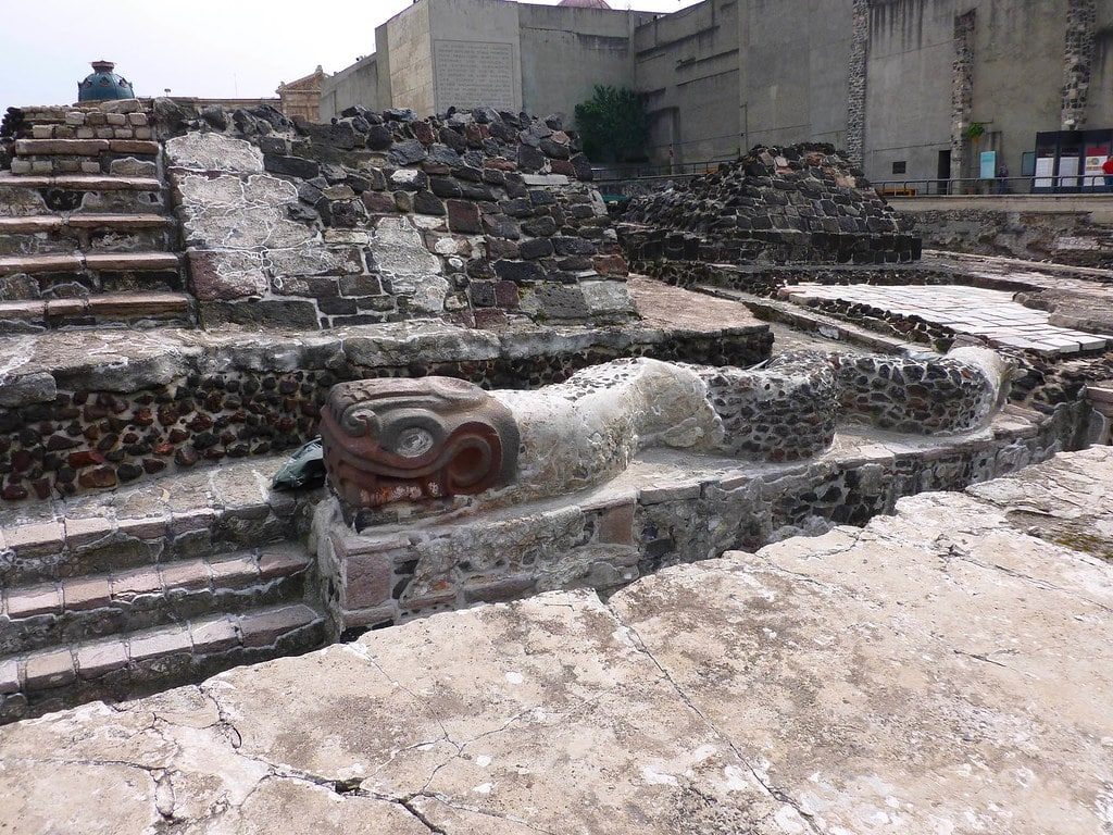 Seeing the Templo Mayor ruins is one of the best things to do in Mexico City